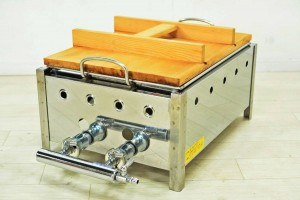 おでん鍋 6区切 都市ガス 天然ガス 木蓋付 厨房機器 屋台